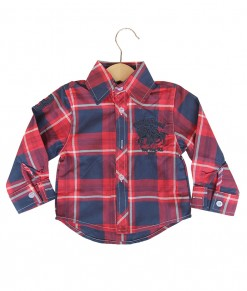 Longsleeve Big Plaid Red Big Shirt
