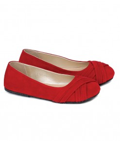Flat Shoes - Red