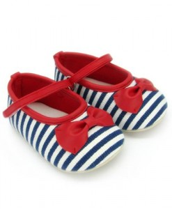 Gwen Stripes Blue Prewalker