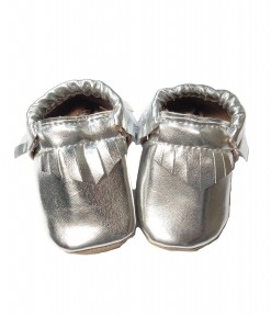 Baby Moccs - Silver