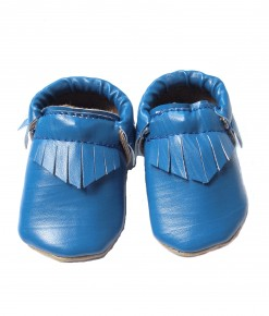 Baby Moccs - Neon Blue