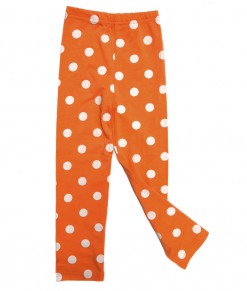 Polka Legging - Orange