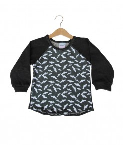 Rugged Combination Semi Sweater - Bats