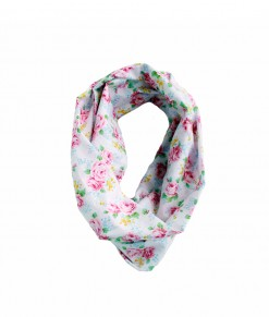 Infinite Scarf - Flower Vintage