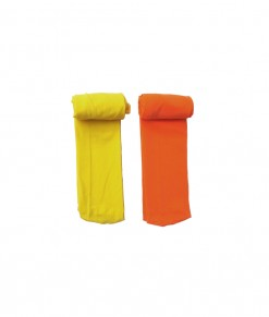 Full Feet Stocking - Yellow Orange (1-2T)
