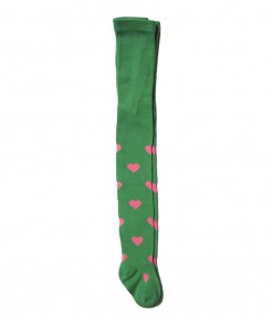 Heart Full Feet Legging - Green (2-7T)