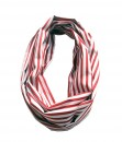 Infinite Scarf - Stripe Red