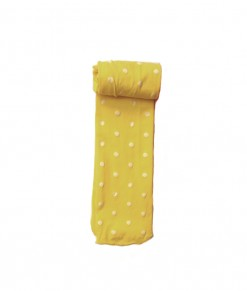 Dot Full Feet Stocking - Yellow