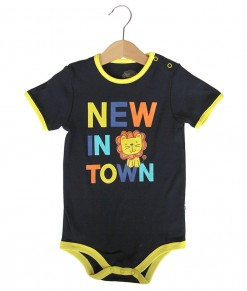 Lion New Blue Bodysuit