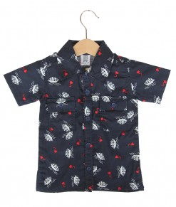 Safari Motif Shirt - Boat