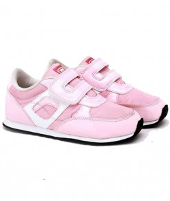 Synthetic Kids Sneakers - Pink