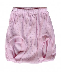 Baby Diamond Pop Pant 6in1 (Newborn-6M) - Pink
