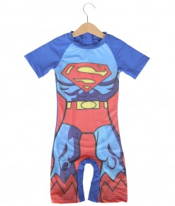Superman Blue Swimsuit