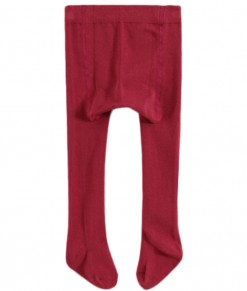Full Feet Solid Legging - Red