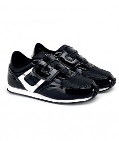 Running Metalic Shoes - Black