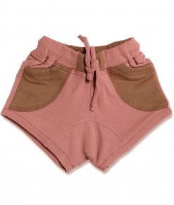 Shortie Pant - Pink Pocket