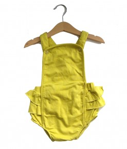 Romper Overall Lime