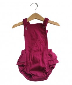 Romper Overall Purple