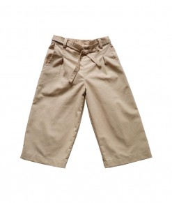 0102-1694A KIDDOKIDDI Zuri Pants - Almond