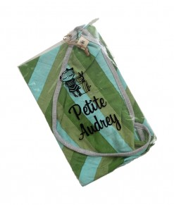 0403-14A Petite Audrey Blanket - Green