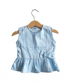 Blouse Blue Stripe