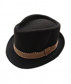 Bowler color hat - Black