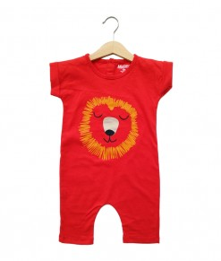 Mimo Playsuit - Red Landak