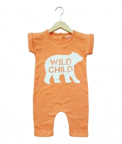 Mimo Playsuit - Orange wild child