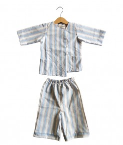 Reyna set in blue stripe
