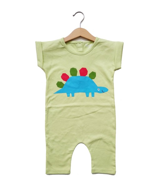 Mimo Playsuit - Spring green dino