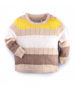 Hellomici - Knitwear spikkel - yellow2