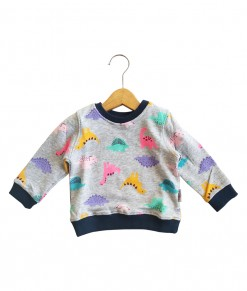 I Am Cotton - Sweater Terry Baby Dino